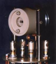 Doty flat coil probe with variable angle housing.